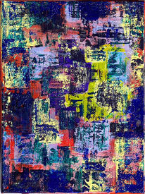 Spachtel, Acrylmalerei, Abstrakt, Gemälde