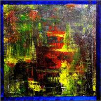 Formen, Malerei, Acrylmalerei, Struktur