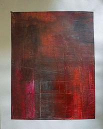 Gemälde, Struktur, Farben, Abstrakt