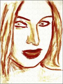Pastellmalerei, Zeichnung, Skizze, Malerei