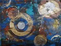 Acrylmalerei, Sprühen, Airbrush, Mischtechnik