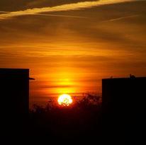 Sonne, Fotografie, Sonnenaufgang, Rot
