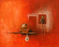 Surreal, Malerei, Flucht
