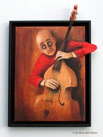 Bass, Kontra, Malerei, Spiel