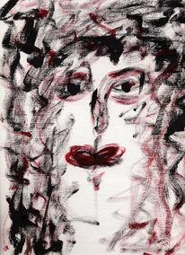 Emotion, Gesicht, Schmerz, Skizze