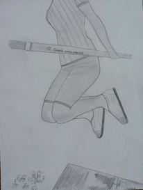 Wahnsinn, Zeichnung, Zeichnungen,