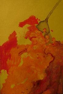 Fan, Finale, Aquarellmalerei, Wut