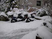 Winter, Schnee, Pinnwand