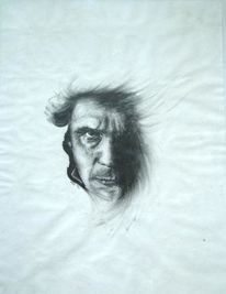 Beethoven, Gesicht, Stimmung, Augen