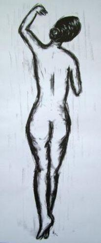 Skizze, Menschen, Tanz, Gefühl