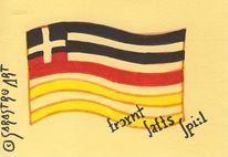 Deutsch, Spiel, Bunt, Land art