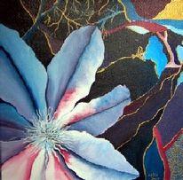 Flora, Bunt, Blüte, Malerei