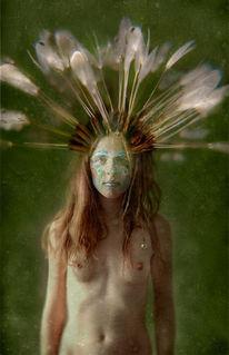 Frau, Surreal, Unwirklich, Traum