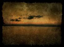 Norwegen, Landschaft, Sonnenuntergang, Wasser