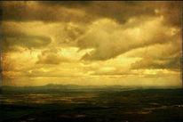 Warm, Spanien, Wolken, Süden