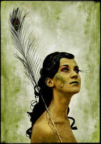 Frisur, Portrait, Avantgarde, Frau