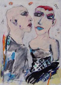 Figur, Gegenwartskunst, Zeichnung, Figural