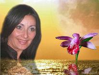 Orchidee, Teneriffa, Rot, Sonne