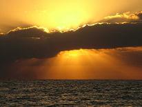 Teneriffa, Wasser, Island, Sonnenuntergang