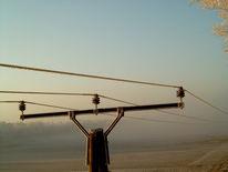 Fotografie, Sonnenaufgang, Schnee, Vogelperspektive