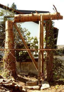 Trition, Holz, Kunsthandwerk, Bau