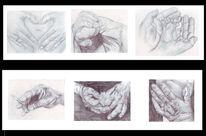Portrait, Zeichnung, Zeichnungen, Alt
