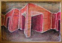 Raumdarstellung, Objekt, Malerei