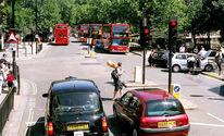 Reiseimpressionen, Menschen, Stadt, Bus