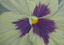 Hornveilchen, Blumen, Stiefmütterchen, Malerei