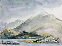 Irland, Connemara, Berge, Felsen