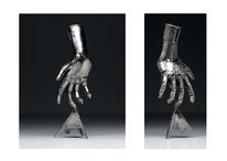 Stahl, Hand, Kunsthandwerk, Metall