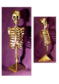 Edelstahl, Knochen, Kunsthandwerk, Metall