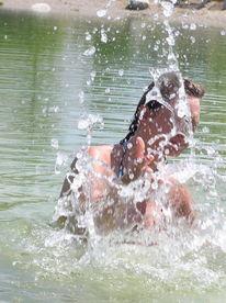 Fotografie, Menschen, Wasser, Baden