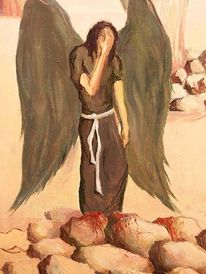 Figural, Malerei, Engel