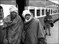 Ludhiana, Punjab, Indien, Zugfahrt