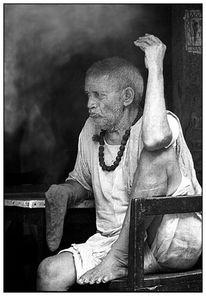 Menschen, Haridwar, Indien, Mann
