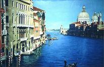 Malerei, Pflanzen, Venedig,