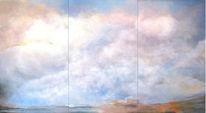 Himmel, Abstrakt, Wolken, Malerei