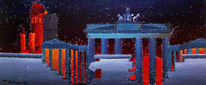 Lord, Darksys, Brandenburger tor, Malerei