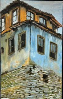 Türkei, Haus, Verlassen, Bergdorf