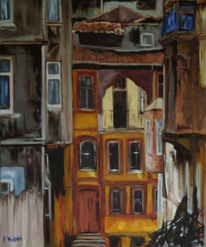 Malerei, Alt, Istanbul