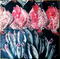 Istanbul, Markt, Fisch, Steinbutt