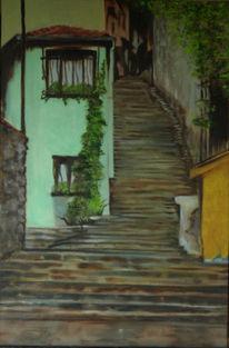 Malerei, Treppe