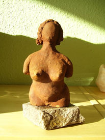 Akt, Gegenständlich, Plastik, Keramik