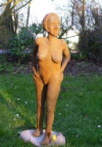 Akt, Keramik, Erotik, Skulptur