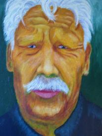Malerei, Menschen, Alter, Mann
