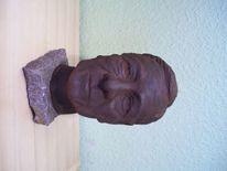 Plastik, Keramik, Figural, Portrait