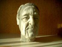 Plastik, Rau, Keramik, Figural
