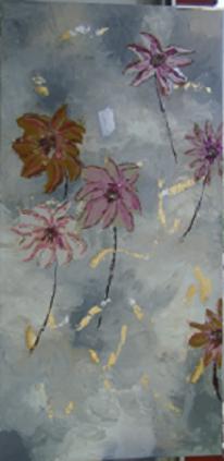 Acrylmalerei, Malerei, Abstrakt, Tapete