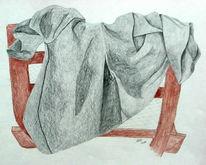 Zeichnung, Skizze, Zeichnungen, Falten